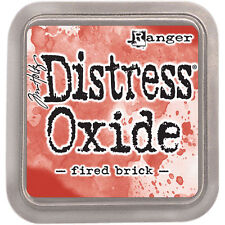 Ranger Tim Holtz Distress Oxides Ink Pad- Fired Brick TDO-55969 NEW #37