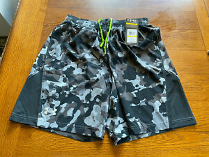 "Under Armour Men's UA HeatGear Flyweight Run 7"" Shorts Camo Pattern Sz M NWT"