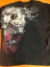 Star Wars Marc Ecko Men's Black T-Shirt Star Darth Vader Size XXL 2XL