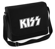 KISS Glamour Rock - Canvass Tasche BESTICKT schwere Qualität