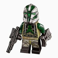 LEGO STAR WARS RARE COMMANDER GREE KASHYYYK CLONE TROOPER FROM WOOKIEE SET 75043