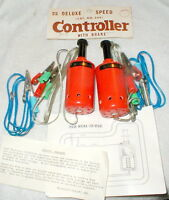 Slot Car Hand Controller by TRADESHIP # 204 Vintage Orange with Brake Set of 2