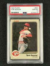 1983 Fleer  Tom Seaver  PSA 10  Cincinnati Reds