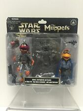 Star Wars MUPPETS Disney Parks Exclusive Animal Boba Fett Scooter Lando Figures