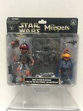Star Wars MUPPETS Disney Parks Exclusive Animal Boba Fett Scooter Lando Figures