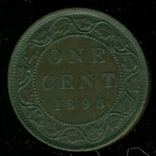 1898H Canada Large Cent, Queen Victoria   O103