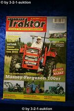 Vintage Tractor 9-10/07 MF 100er Lanz d9506 Man 4s2 TRACTOR ELECTRICS