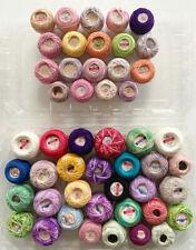 49 Balls Vintage Crochet or Tatting Thread - NOS