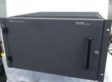 Tektronix Grass Valley M-2100 Digital Master Control Frame Switcher 2100 PRCFRM