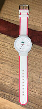 Lacoste Goa Unisex White & Pink Rubber Watch
