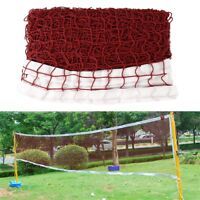 Badminton Tennis Volleyball Net For Beach Garden Indoor Outdoor Games Red