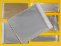 Clear Square Cello Bags - Cellophane Display Bag for Square Cards, Gifts Photos