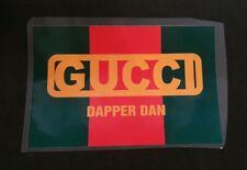 Trasfer Gucci Termosaldabile Dapper Dan Verde Rosso Lusso