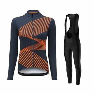 Cycling Jerseys Women's Long Sleeve Clothing Bike Uniform Set MTB Ropa Ciclismo