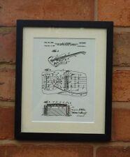 USA patent dessin Fender Precision Tremolo Pont Guitare monté imprimer 1961