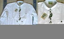 37-38 Herren-Trachtenhemden mit Klassischer Kragen aus Baumwolle