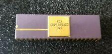Vintage RCA Purple Ceramic & Gold 40 Pin DIP Chip Processor CDP1854ACD