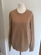 Ralph Lauren Cable Knit Cashmere sweater L