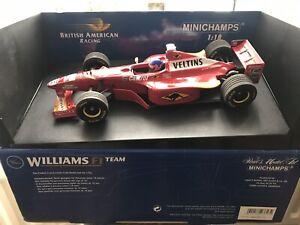 Minichamps Williams F1 Jacques Villeneuve 1998 1/18 Scale