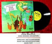 LP Piccolo, Sax & Co - Kleine Geschichte eines großen Orchesters /Philips 841802