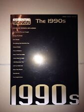 MUSIQUE PARTITION / ESSENTIAL SONGS THE 1990s / PIANO VOCAL GUITAR / 60 CHANSONS