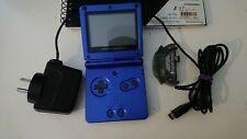 Nintendo Gameboy Advance SP Blue Console