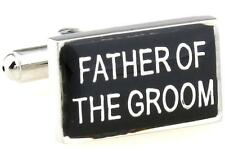 Father Of The Groom Cufflinks Reception Wedding Fancy Gift Box Free Ship USA