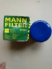 Oil Filter Engine W 716/1 MANN+HUMMEL for Chevrolet Citroen DS Fiat Ford Lancia