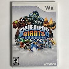 Skylanders Giants Wii Great condition (No Manual)