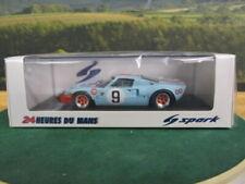 SPARK.  Ford GT40 Winner Le Mans 24hr 1968. No9. Light Blue. 1:43. 43LM66