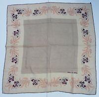 foulard Emilio Gerli pura seta 100% silk original made italy carré scarf