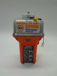 ACR Satellite 406 EPIRB Emergency Position Indicating Radio Beacon Exp. 5/2001