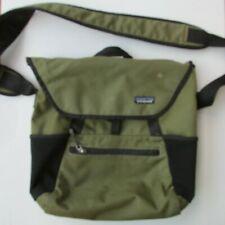 Patagonia Green Laptop Cross Body Messenger Computer Bag