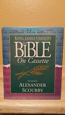 "King James The Bible On Cassette ""Matthew Revelation "" New Testament"