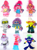 "DREAMWORKS TROLLS 2 - SOFT TOYS - 9 TO CHOOSE FROM - NEW/LICENCED 10"" - 11"" 26CM"