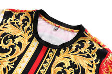 NEW VERSACE2020 T-SHIRT FOR MEN COTTON SHORT SLEEVE SIZE M-3XL