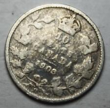 Canada 1903H Silver 10 Cents, Old Date King Edward VII (2e)