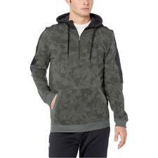 NEW Under Armour Men Microthread Fleece Camo Half Zip Pullover Hoodie Sweatshirt