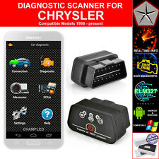 OBD II 2 CAR AUTO DIAGNOSTIC CODE SCANNER SCAN TOOL WITH POWER SWITCH CHRYSLER