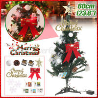 60cm(23.6'') Christmas Trees With Lights Festival Party Decoration Hom