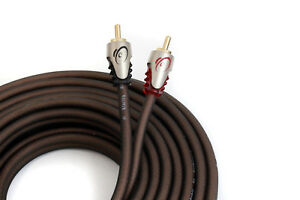 KnuKonceptz Klarity Kable 2 Channel Twisted Pair OFC RCA Cable 1M to 8M length