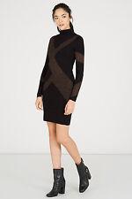 WAREHOUSE GEO PATTERN SPARKLE DRESS 18