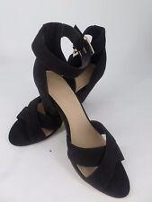 ASOS HAT TRICK Heeled Sandals Black UK 3 EU 36 LN22 27