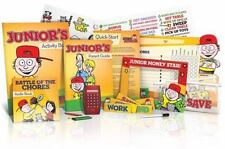 NEW Dave Ramsey's FINANCIAL PEACE JUNIOR Teaching Kids How to Win W/Money-Sealed