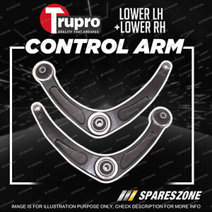 2 Pcs Trupro Lower Control Arms for Peugeot 307 T5 T6 Hatch Cabrio 2001-2008