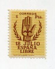 1938 Spanien Nat. Erhebung Alzamiento Nacional 1 Pes Mi 810  Ed. 854 ** MNH