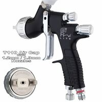 DeVilbiss GTi ProLite BLACK T110 Clearcoat/Gloss Smooth Spray Gun 1.2/1.3mm Tip