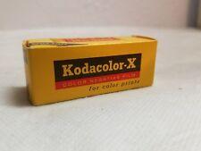 Kodacolor X CX 127 Color Negative Film Expired Jan. 1966