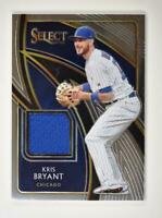 2020 Select Swatches #SS-KB Kris Bryant - Chicago Cubs
