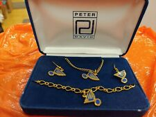 St Louis Blues Jewelry gift set by Peter and David..